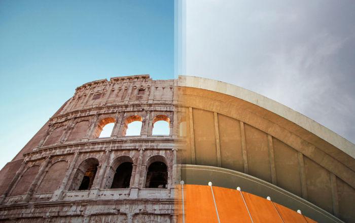 Архитектура в Италии и Архитектура в Германии.