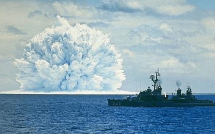 Испытание ядерного оружия. \ Фото: s.hi-news.ru.