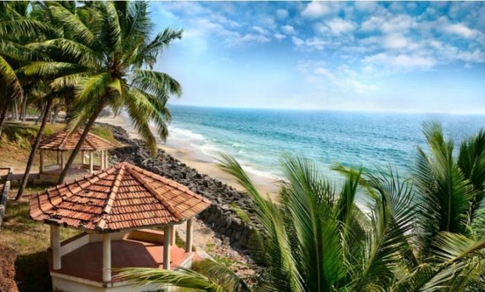 Великолепные пляжи Кералы.