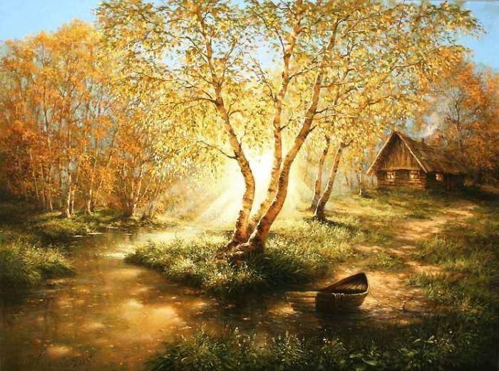 Дыхание осени. Авторы: Михаил и Елена Иваненко.