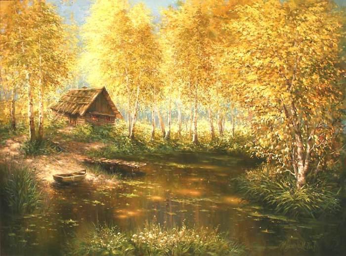 Золотая осень. Авторы: Михаил и Елена Иваненко.