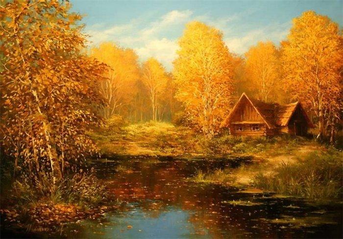 Осенняя мелодия. Авторы: Михаил и Елена Иваненко.