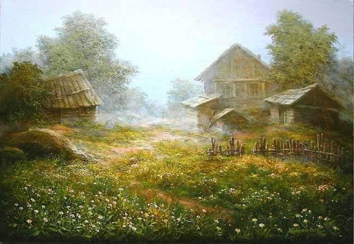 Весна. Авторы: Михаил и Елена Иваненко.