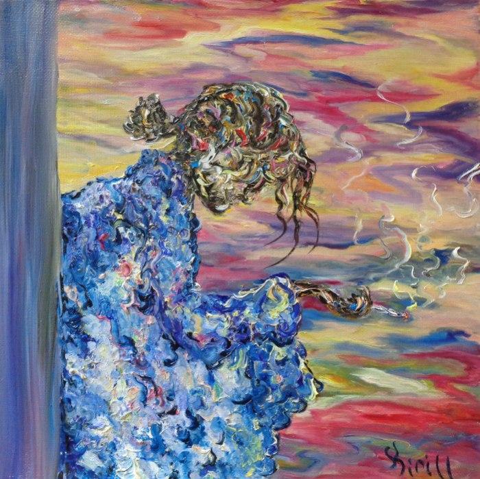 Вчера еще... - невероятно чувственная картина от Кирилла Суханова.
