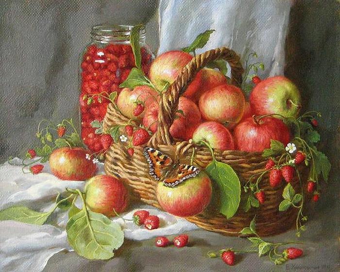 Аромат спелых яблок. Автор: Екатерина Калиновская.