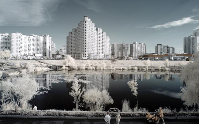 Небоскребы Киева.