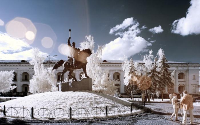 Инфракрасный Киев.