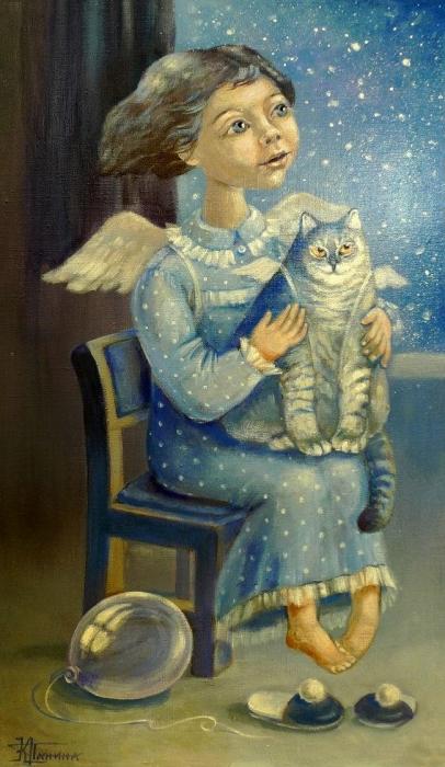 Ангел. Автор: Кира Панина.