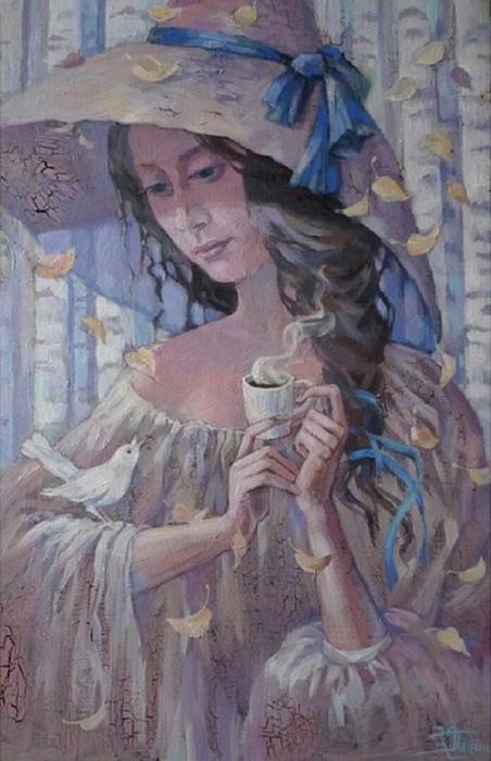 Кофейный аромат. Автор: Кира Панина.