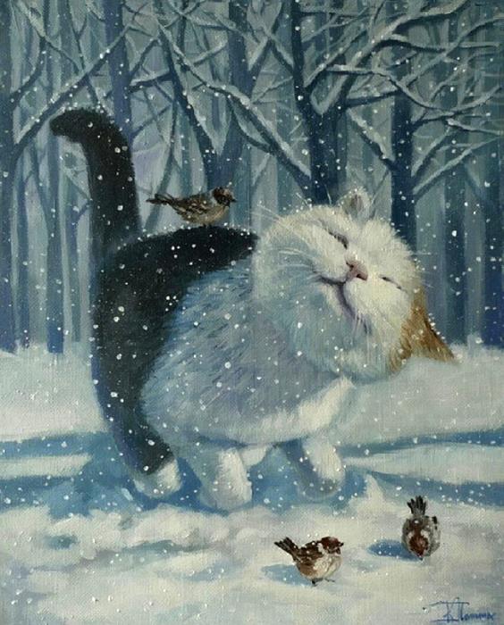Снег. Автор: Кира Панина.