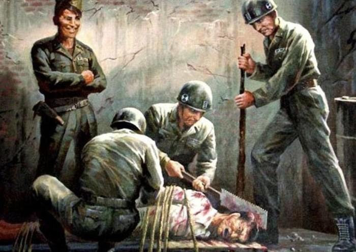 Американские солдаты, которые активно участвовали в жестоких убийствах.