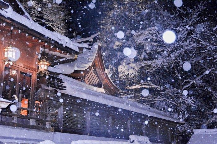 Волшебная зима в Киото.