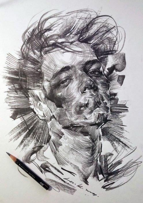 Карандашные рисунки. Автор: lee.k.