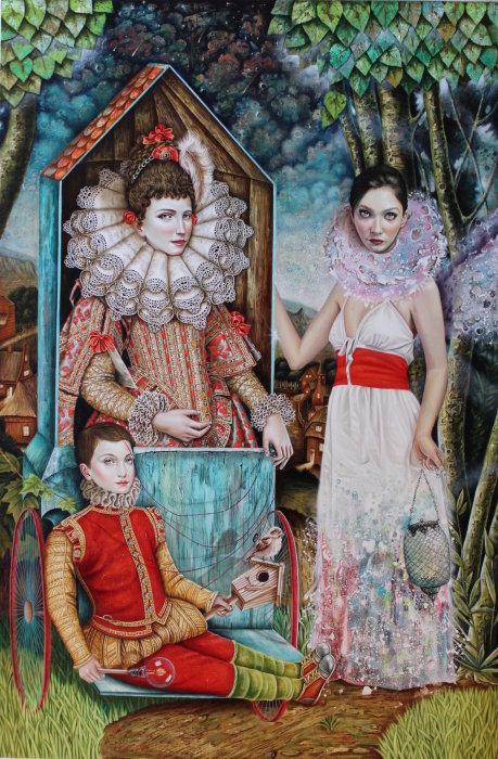 Интригующие портреты, на которых женские образы переплетаются с ностальгическими воспоминаниями о Кубе