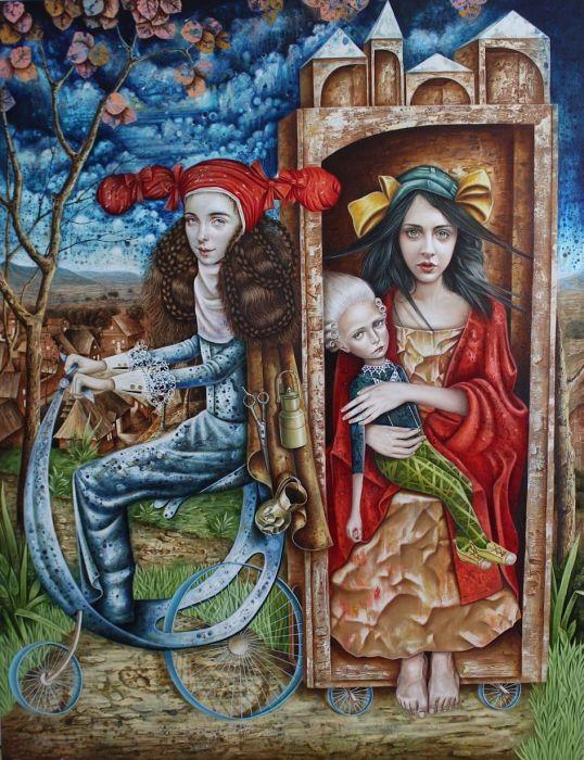 Приступ грусти. Автор: Luis Enrique Toledo del Rio.