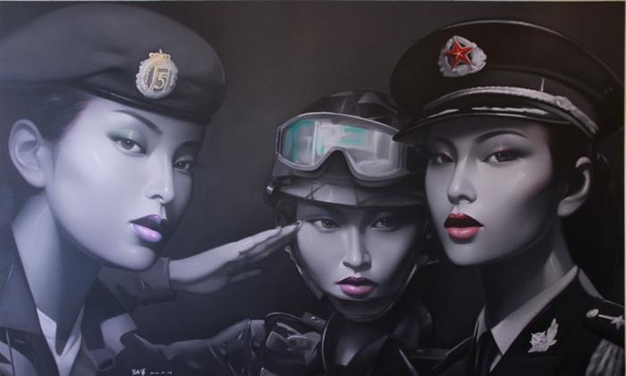Красота войны. Автор: Lv Yanjun.