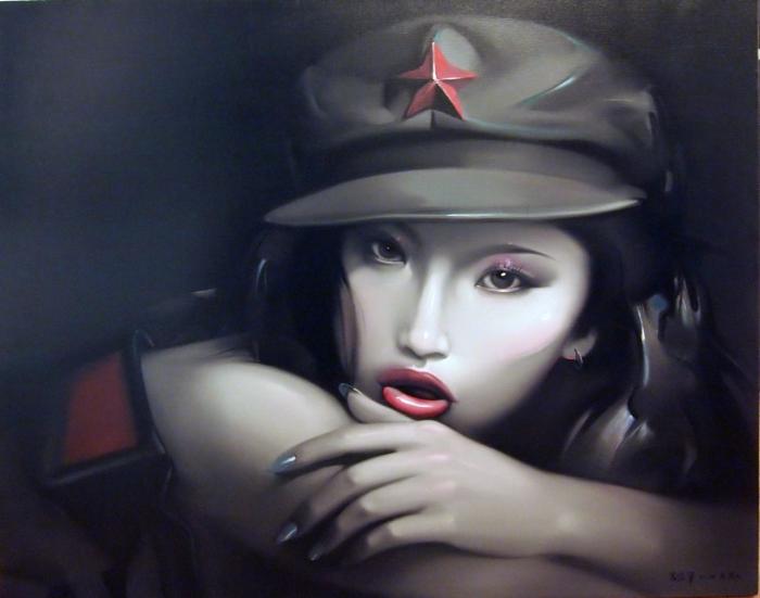 Женственность. Автор: Lv Yanjun.