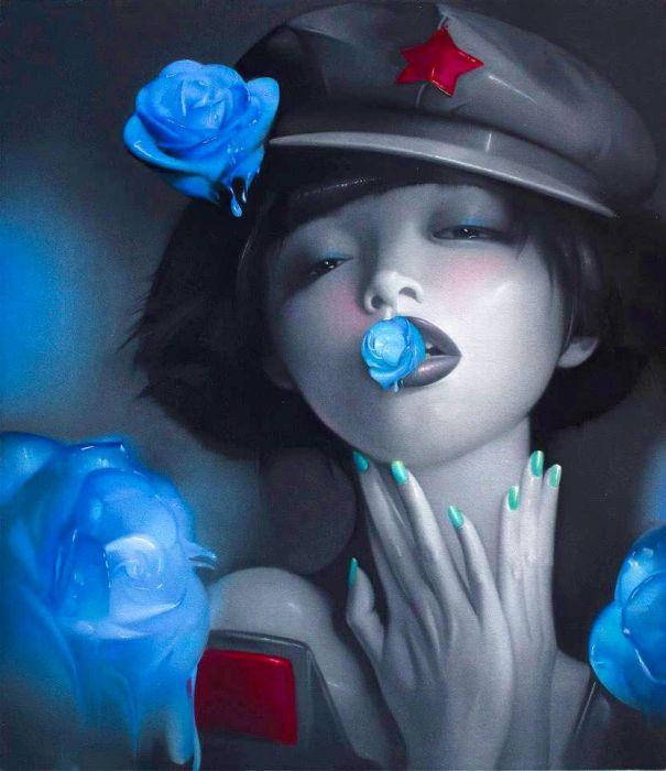 Цветок страсти. Автор: Lv Yanjun.