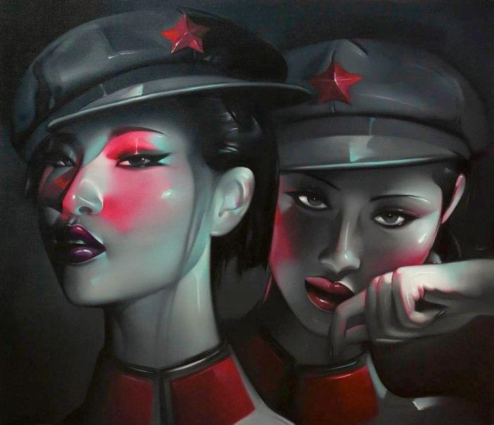 Несломленные. Автор: Lv Yanjun.