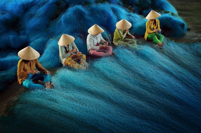 Рыбаки. Автор: Ly Hoang Long.