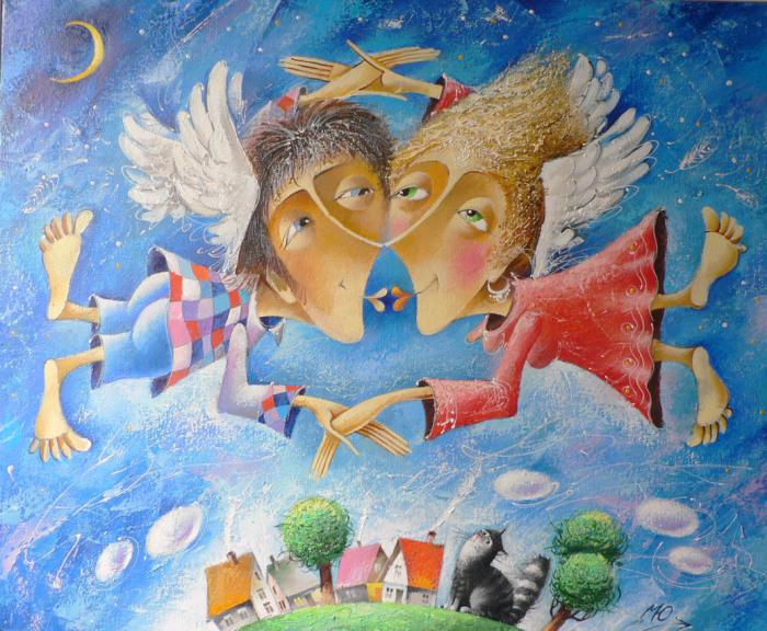 Любовь окрыляет. Автор: Юрий Мацик.