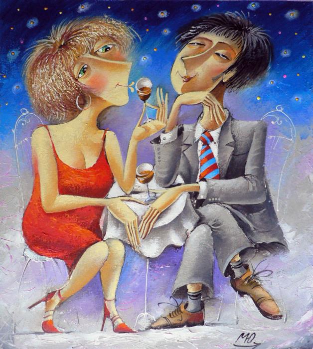 Бокал вина. Автор: Юрий Мацик.