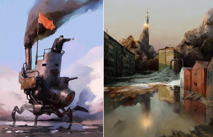 Необычные работы Владимира Малаховского.