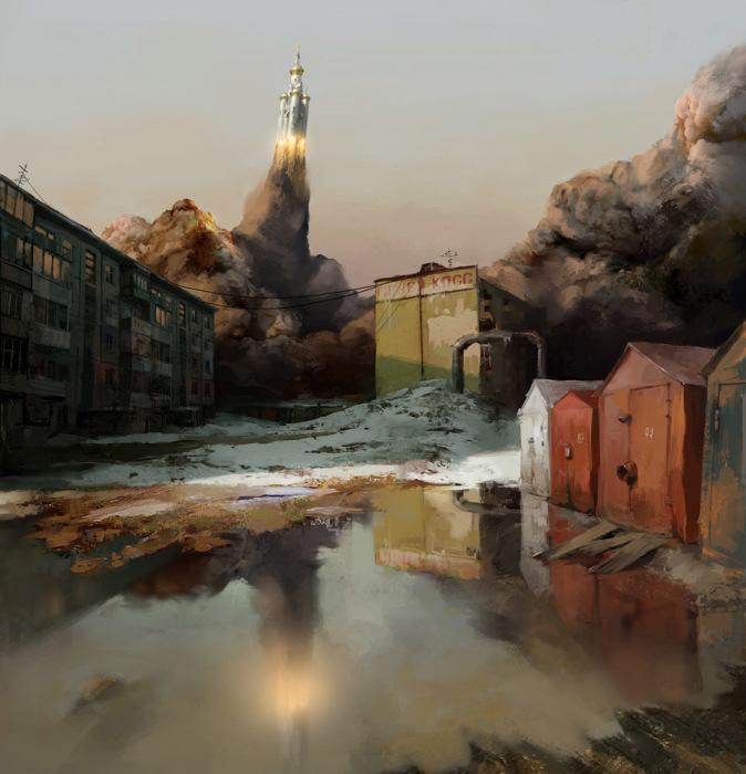 Вылет (ортодоксальная космическая программа часть 2). Автор: Владимир Малаховский.
