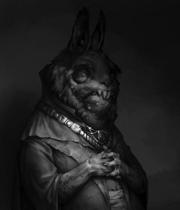 Дворцовый заяц. Автор: Владимир Малаховский.