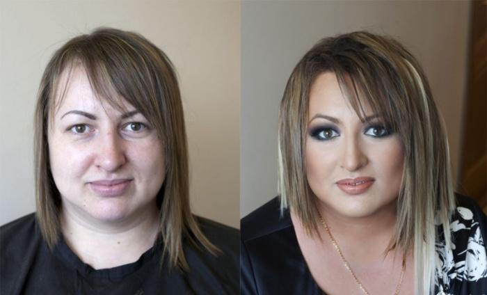 Сила макияжа не знает границ. Визажист: Вадим Андреев.