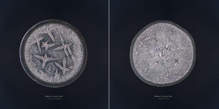 Слёзы под микроскопом.  Автор фото: Maurice Mikkers.