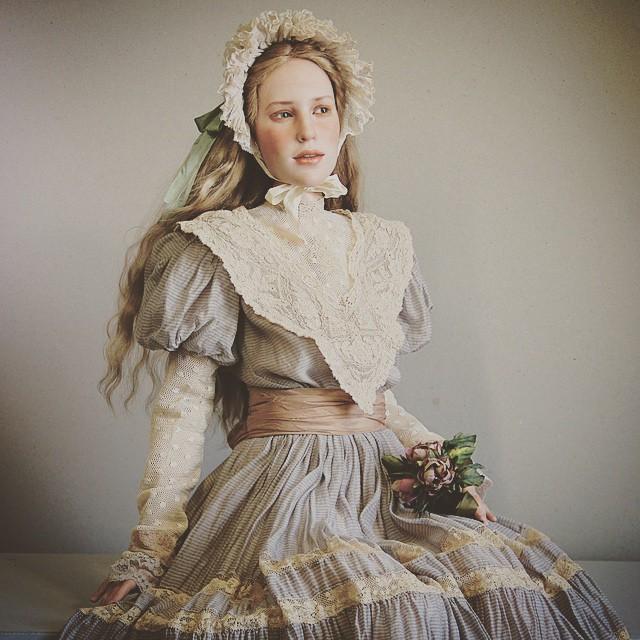 Куклы Михаила - настоящее произведение искусства, дарящее ощущение волшебства.