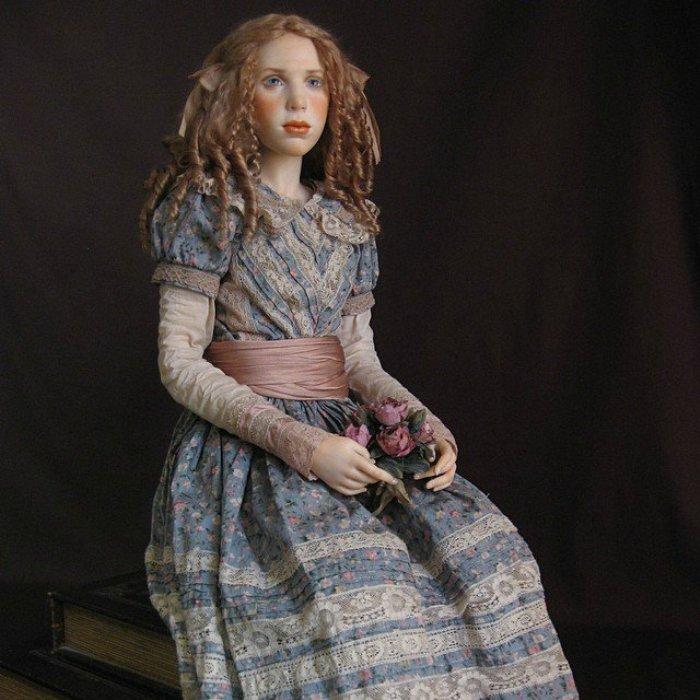 Каждая кукла, созданная Михаилом уникальна и прекрасна.