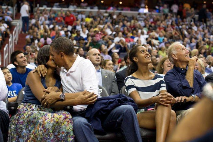 Не скрывая чувств, Вашингтон, 2012 год.