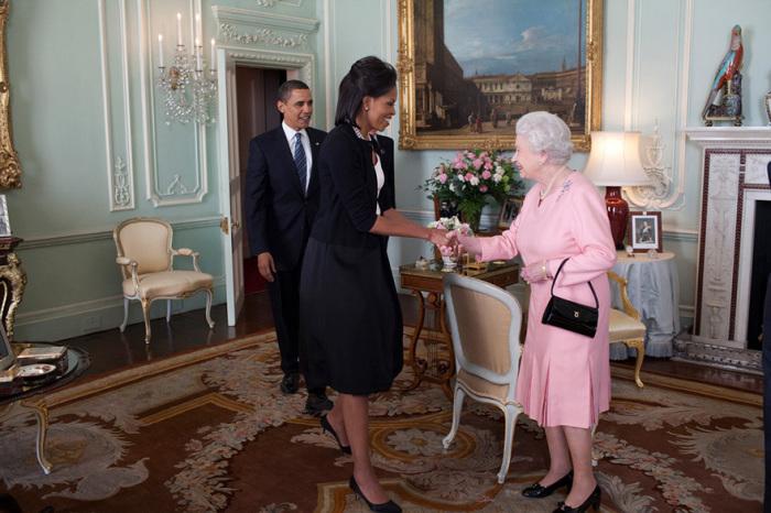 Встреча с Королевой.