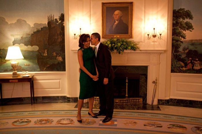 Минутка тишины и спокойствия, Белый дом, 2009 год.