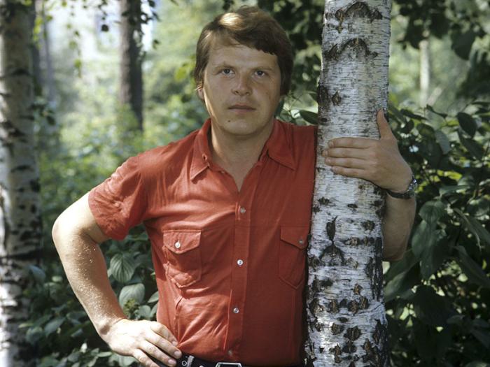 Михаил Кокшенов в молодости. \ Фото: pinterest.at.