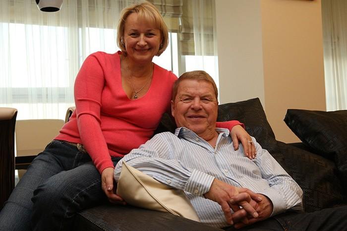 Михаил Кокшенов с женой. \ Фото: crimea.kp.ru.