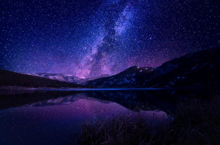 Звездная ночь.