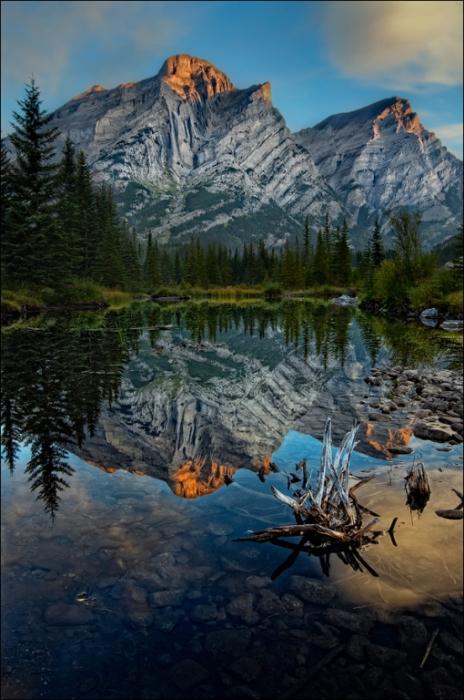 Зеркальные горы.