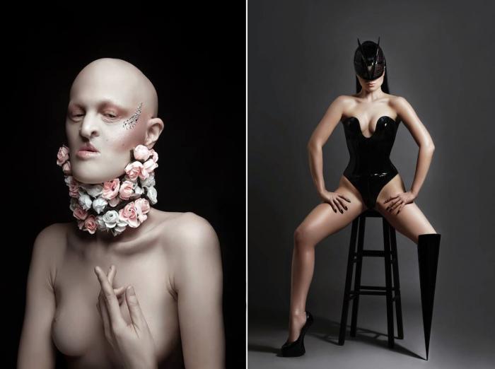 Понятие о красоте - относительно. Нестандартные модели мира.