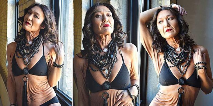 Оказавшаяся в теле старухи девушка не отчаялась и бросила вызов стандартам красоты, став моделью.