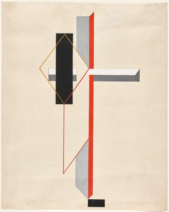 Композиция Проун, Эль Лисицкий, 1922 год. \ Фото: blogspot.com.