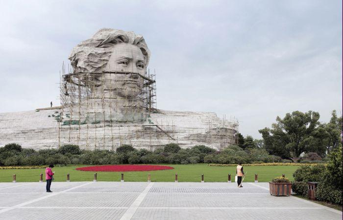 Мао Цзэдун, Чанша, Китай, 32 метра. Автор: Fabrice Fouillet.