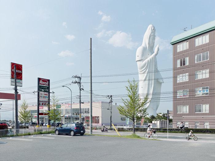 Sendai Daikannon, Сендай, Япония, 100 метров. Автор: Fabrice Fouillet.