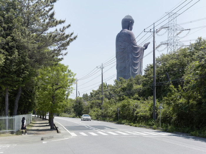 Будда Амитабхи, Усику, Япония, 110 метров. Автор: Fabrice Fouillet.