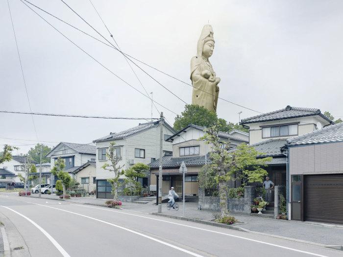 Jibo Kannon, Кага Онсен, Япония, 73 метра. Автор: Fabrice Fouillet.
