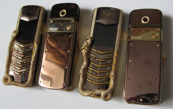 Самые дорогие мобильные телефоны. \ Фото: popmech.ru.