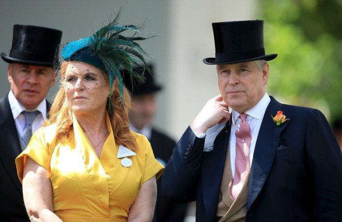Принц Эндрю и Сара «Ферги» Фергюсон. \ Фото: seattletimes.com.