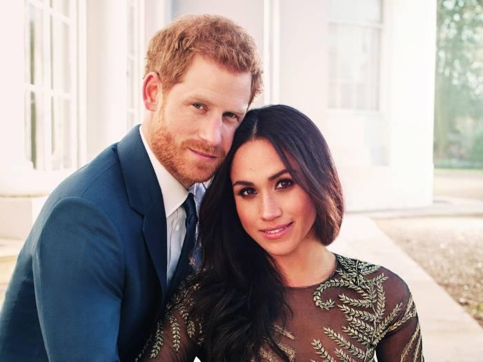Принц Гарри и Меган Маркл. \ Фото: vanityfair.com.